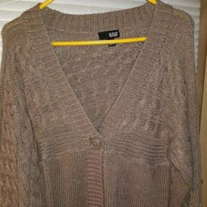 Women's a.n.a. (a new approach) Cardigan Tan Large